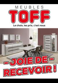 Prospectus Meubles Toff : Joie de recevoir !