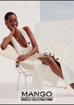 Prospectus MANGO : Nouvelle Collection / Femme