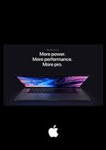 Prospectus Apple : MacBook Pro