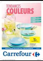 Prospectus Carrefour : Tendances couleurs