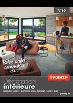 Prospectus Point P : Décoration intérieure