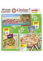 Prospectus Supermarchés Casino : Voyage gourmand en Italie