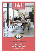 Promos et remises H&H : Offres Printanières