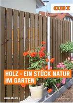 Prospectus  : Holz - Ein stuck natur im Garten