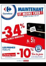 Prospectus Carrefour : Maintenant et Moins cher