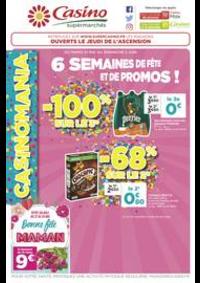 Prospectus Supermarchés Casino PARIS 26 bis et 28 Place de la Nation : 6 semaines de fête et de promos !
