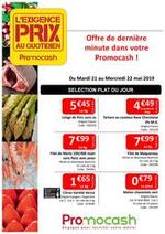 Prospectus Promocash : Exigence prix semaine 21 Dernière minute !