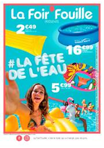 Prospectus La Foir'Fouille : La fête de l'eau