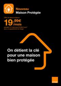Prospectus Boutique Orange POISSY : Maison protegee