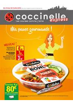 Prospectus Coccinelle Express : Ma pause gourmande!