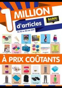 Prospectus Babou Épinay-sur-Seine : À prix coûtants