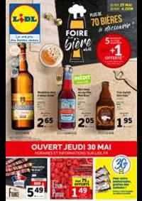 Prospectus Lidl HOUTAUD : Foire à la Bière