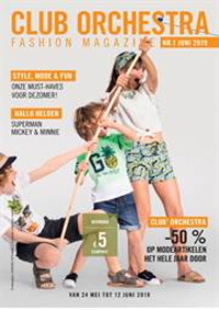 Prospectus Orchestra PREMAMAN ANDERLECHTSCHEUT : Fashion Magazine Orchestra