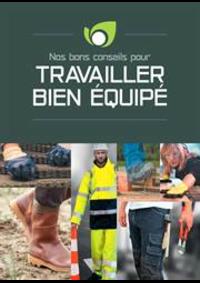 Guides et conseils Point Vert AYDOILLES : Travailler bien équipé