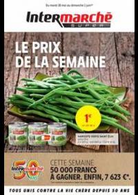 Prospectus Intermarché Super Lugrin : LE PRIX DE LA SEMAINE
