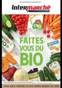 Prospectus Intermarché Super Saint-Pierre du Perray : Faites vous du Bio