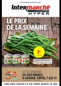 Prospectus Intermarché Hyper Thonon-Les-Bains : LE PRIX DE LA SEMAINE