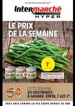 Prospectus Intermarché Hyper : LE PRIX DE LA SEMAINE