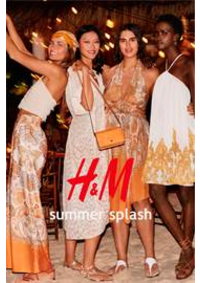 Prospectus H&M Paris 54 bd Haussmann : Summer splash