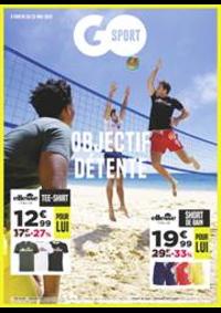 Prospectus Go Sport PARIS CHATILLON : Objectif Détente