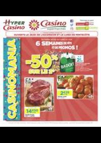 Prospectus Supermarchés Casino Clichy - Rue Martre : 6 semaines de fête et de promos !