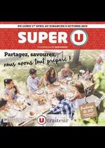 Prospectus Super U : PARTAGEZ, SAVOUREZ, NOUS AVONS TOUT PRÉPARÉ !