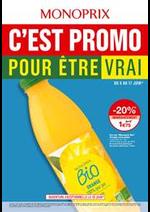Prospectus Monoprix : C'est promo pour ètre vrai