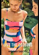 Prospectus Women'secret : Live the colours