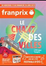 Prospectus Franprix : Le chant des villes
