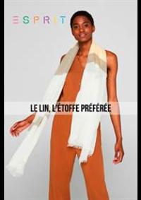 Prospectus Esprit Aulnay sous Bois : Le Lin, L'étoffe Préférée