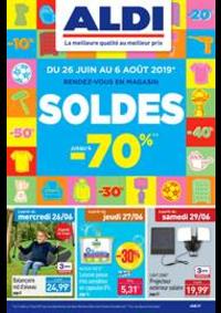 Prospectus Aldi L'Aigle : Soldes