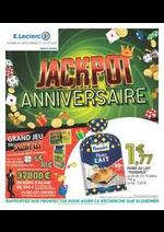 Prospectus E.Leclerc : Jackpot anniversaire