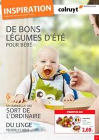 Prospectus Colruyt BREDENE : De bons legumes d'ete pour bebe