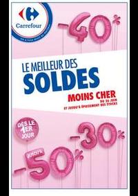 Prospectus Carrefour CHARENTON LE PONT : LE MEILLEUR DES SOLDES MOINS CHER