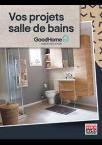 Prospectus Brico Dépôt GARGES : Vos projets salle de bains