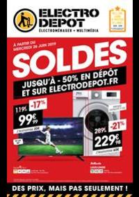 Prospectus ELECTRO DEPOT RENNES : Soldes