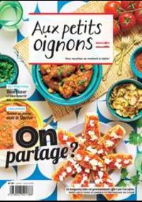 Prospectus Carrefour GENNEVILLIERS : Aux Petits Oignons Juillet/Aout