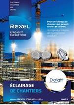 Guides et conseils Rexel : REXEL Eclairage de chantiers
