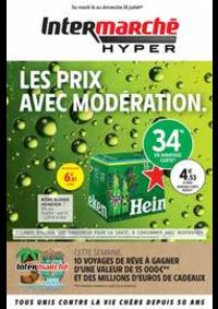 Prospectus Intermarché Hyper MORTEAU : LES PRIX AVEC MODÉRATION.