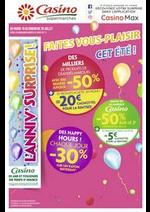 Prospectus Supermarchés Casino : Faites vous-plaisir cet été !