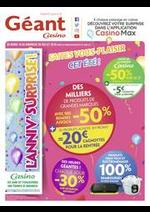 Prospectus Géant Casino : Faites vous-plaisir cet été !