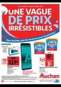 Prospectus Auchan Melun Senart Cesson : Une vague de prix irrésistibles
