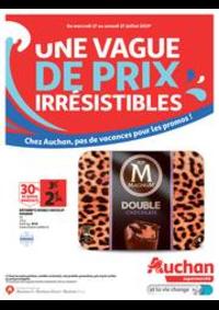 Prospectus Auchan Supermarché Paris 12 Reuilly : Une vague de prix irrésistibles