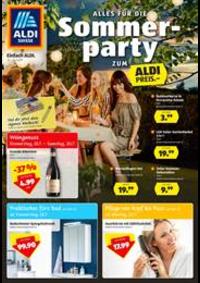 Prospectus Aldi Allschwil - Binningerstrasse  : Alles fur die Sommer party zum Aldi Preis.