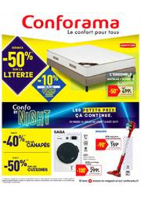 Prospectus Conforama CREIL - ST MAXIMIN : Catalogue Conforama