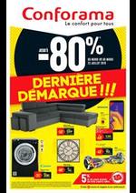 Prospectus Conforama : Dernière Démarque!!!