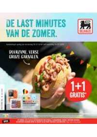 Prospectus Supermarché Delhaize Bouge : Folder Delhaize