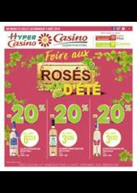 Prospectus Supermarchés Casino PARIS 16 Rue des Belles Feuilles : Foire aux rosés d'été