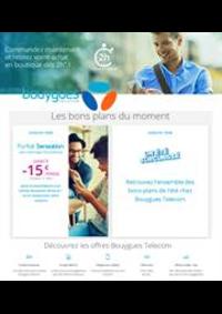 Prospectus Bouygues Telecom ASNIERES SUR SEINE : Offres Bouygues Telecom