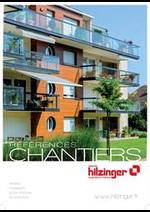 Guides et conseils Hilzinger : Catalogue Chantiers